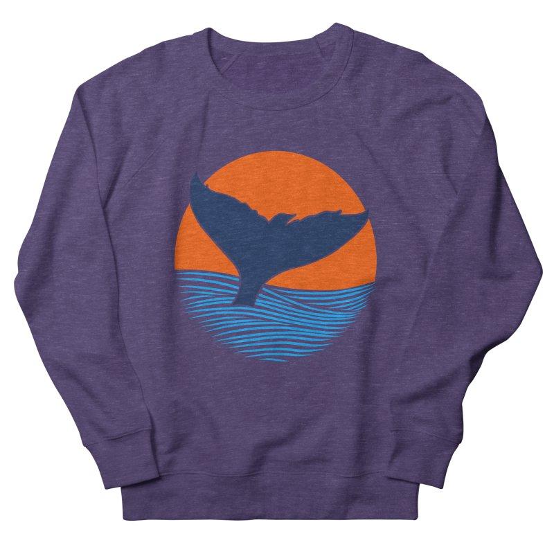 Wings & Tail Women's French Terry Sweatshirt by kooky love's Artist Shop