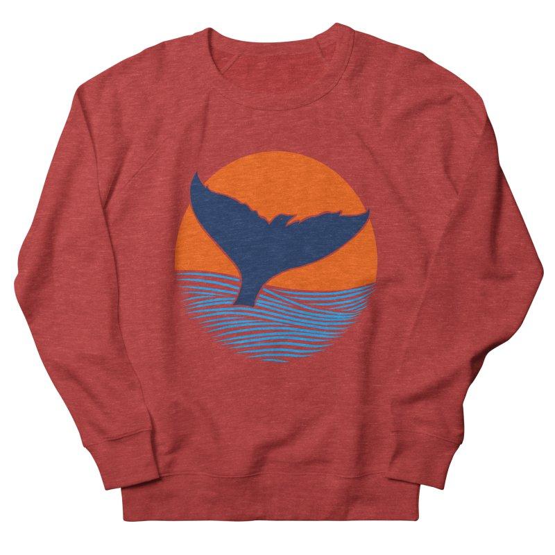 Wings & Tail Men's French Terry Sweatshirt by kooky love's Artist Shop