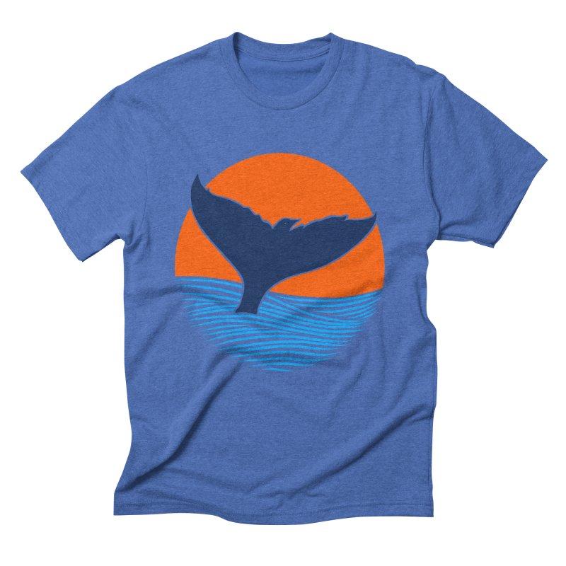 Wings & Tail Men's Triblend T-Shirt by kooky love's Artist Shop