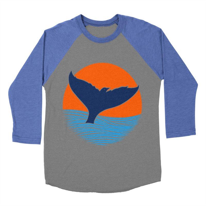 Wings & Tail Women's Baseball Triblend T-Shirt by kooky love's Artist Shop
