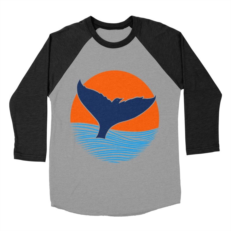 Wings & Tail Women's Baseball Triblend Longsleeve T-Shirt by kooky love's Artist Shop