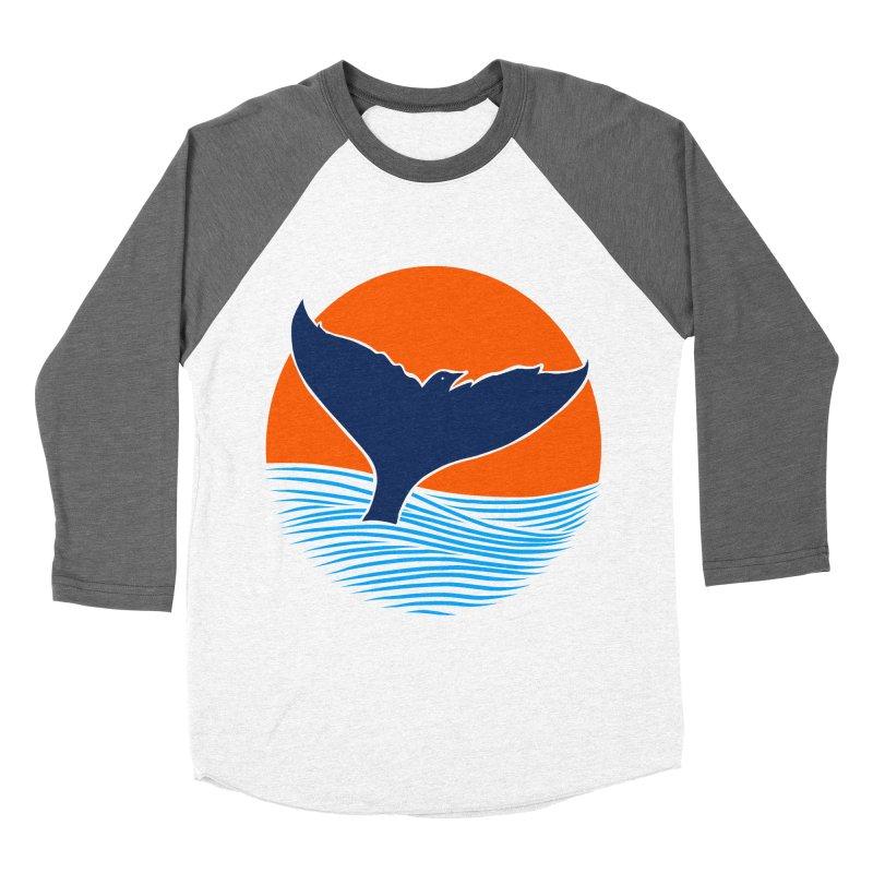 Wings & Tail Men's Baseball Triblend T-Shirt by kooky love's Artist Shop