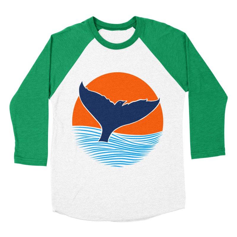 Wings & Tail Men's Baseball Triblend Longsleeve T-Shirt by kooky love's Artist Shop