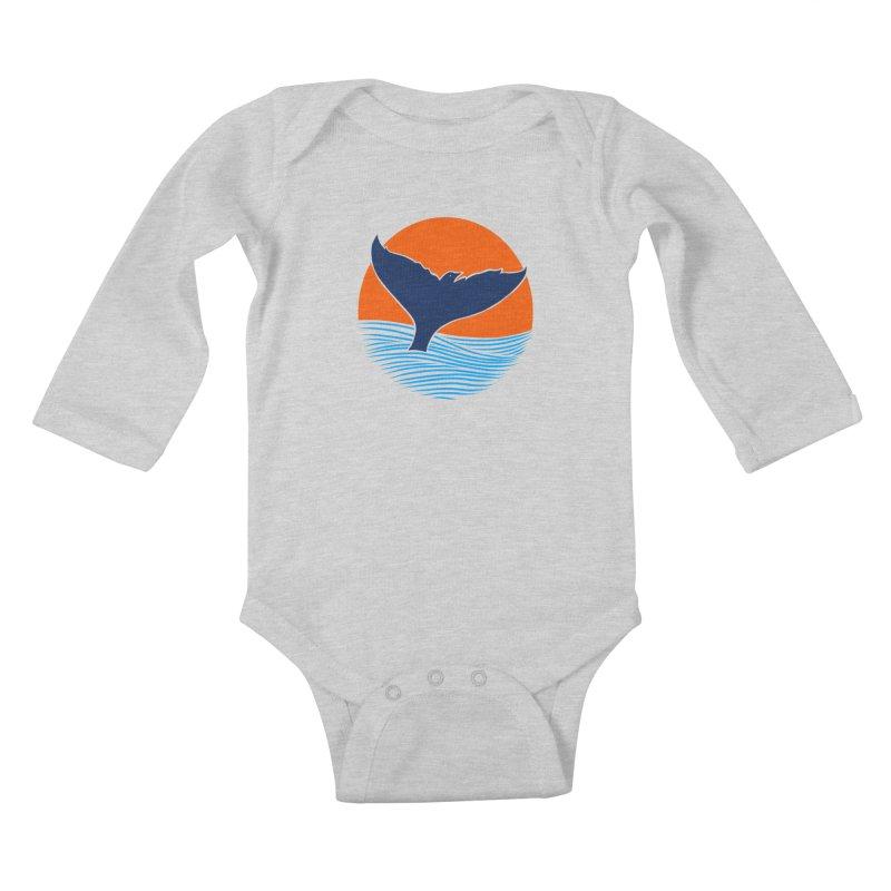 Wings & Tail Kids Baby Longsleeve Bodysuit by kooky love's Artist Shop
