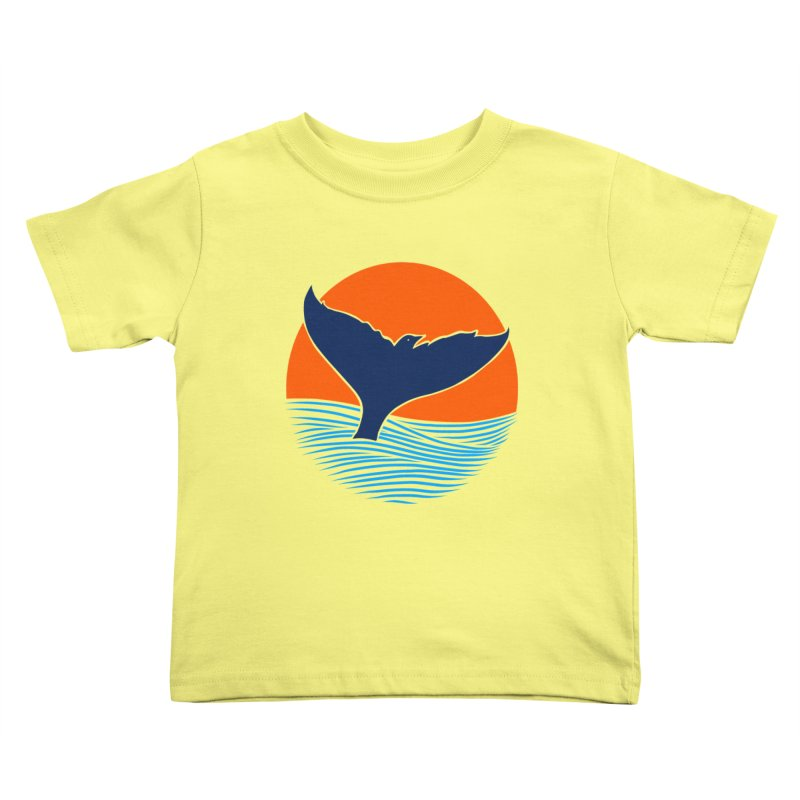 Wings & Tail Kids Toddler T-Shirt by kooky love's Artist Shop