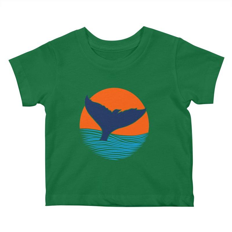 Wings & Tail Kids Baby T-Shirt by kooky love's Artist Shop
