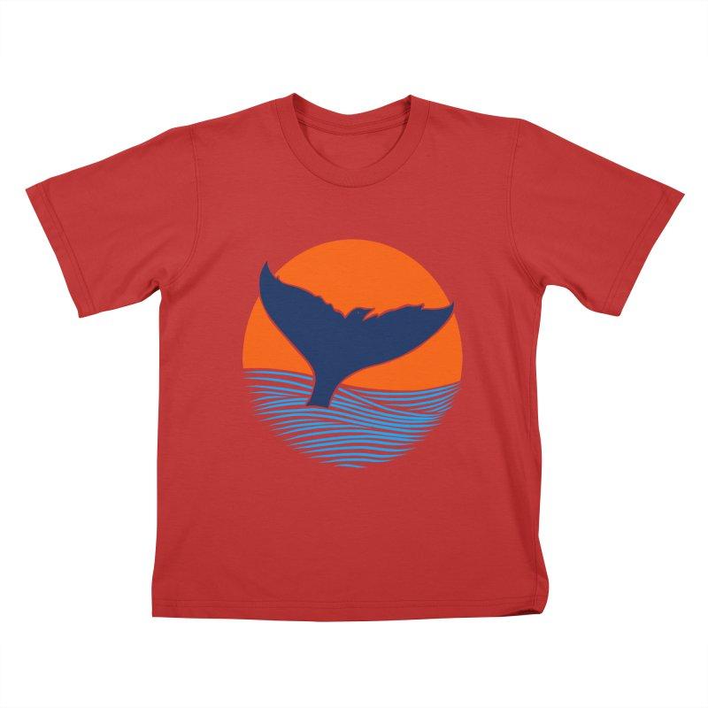Wings & Tail Kids T-Shirt by kooky love's Artist Shop