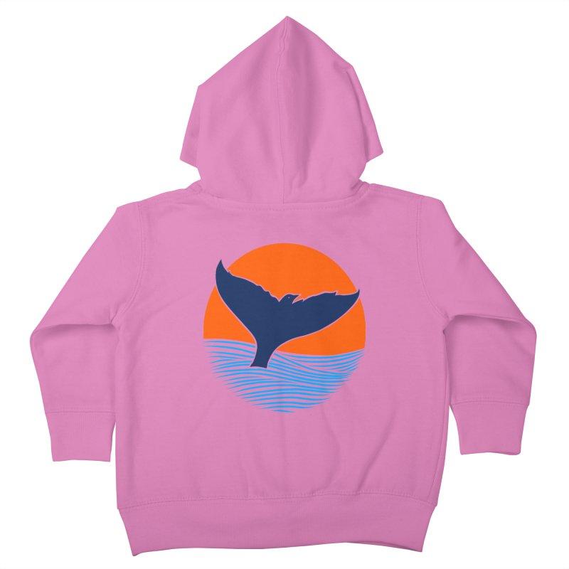 Wings & Tail Kids Toddler Zip-Up Hoody by kooky love's Artist Shop