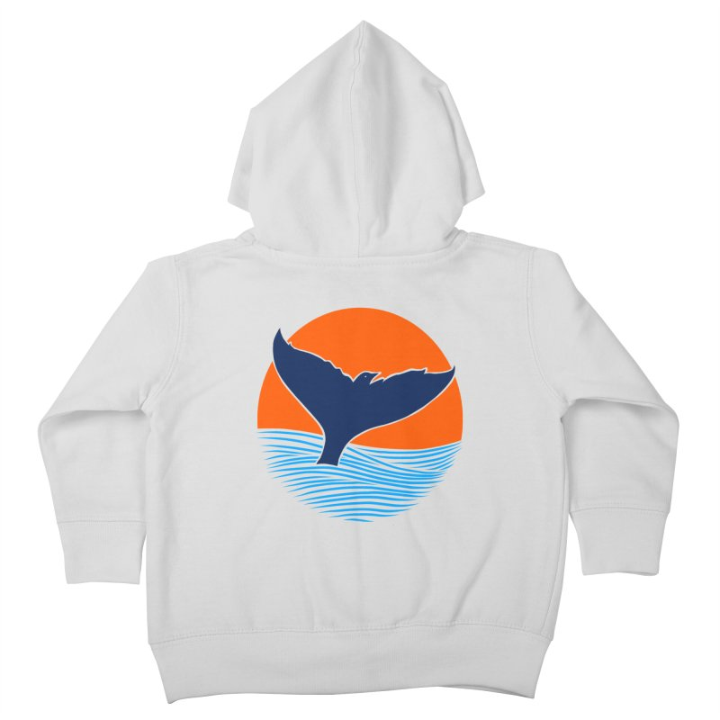 Wings & Tail Kids Toddler Zip-Up Hoody by kooky love's Artist Shop