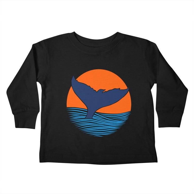 Wings & Tail Kids Toddler Longsleeve T-Shirt by kooky love's Artist Shop
