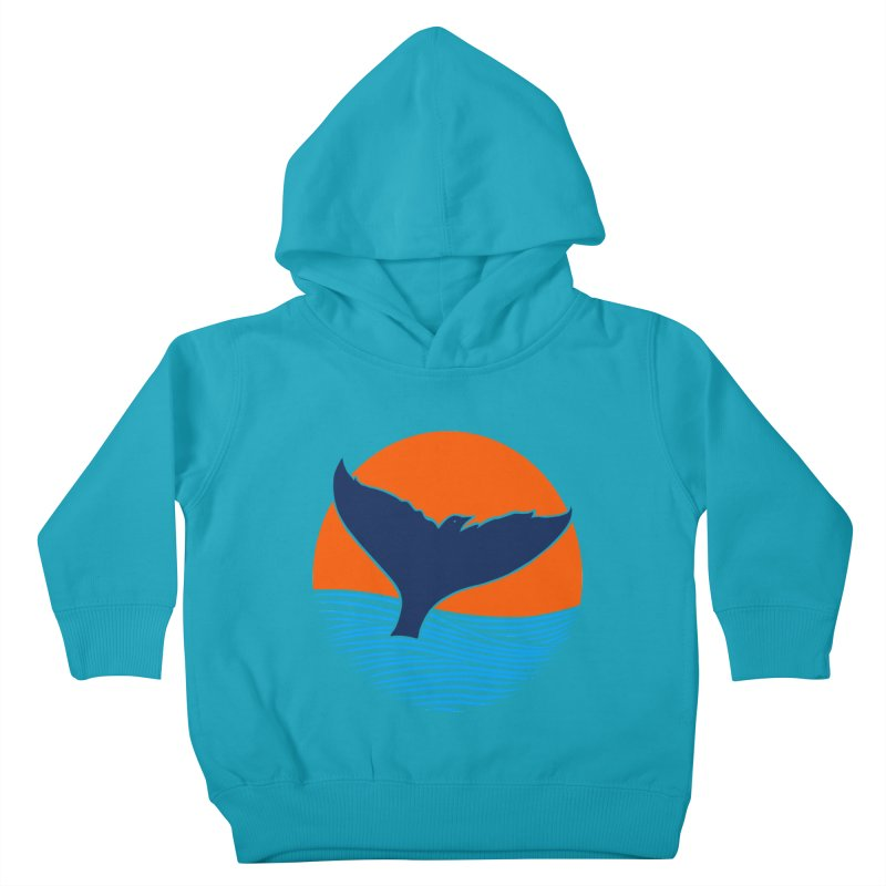 Wings & Tail Kids Toddler Pullover Hoody by kooky love's Artist Shop