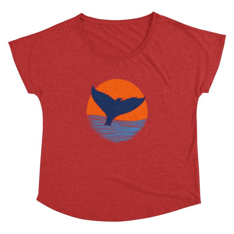 Wings & Tail Women's Dolman by kooky love's Artist Shop