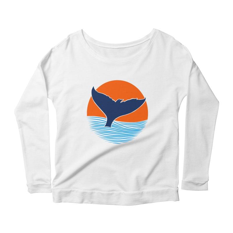 Wings & Tail Women's Scoop Neck Longsleeve T-Shirt by kooky love's Artist Shop