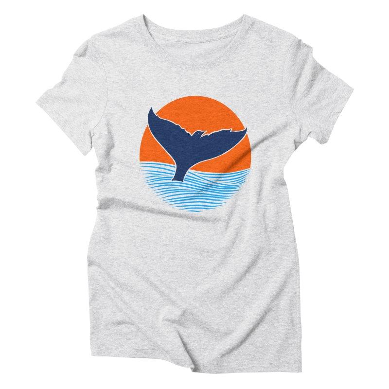 Wings & Tail Women's Triblend T-Shirt by kooky love's Artist Shop
