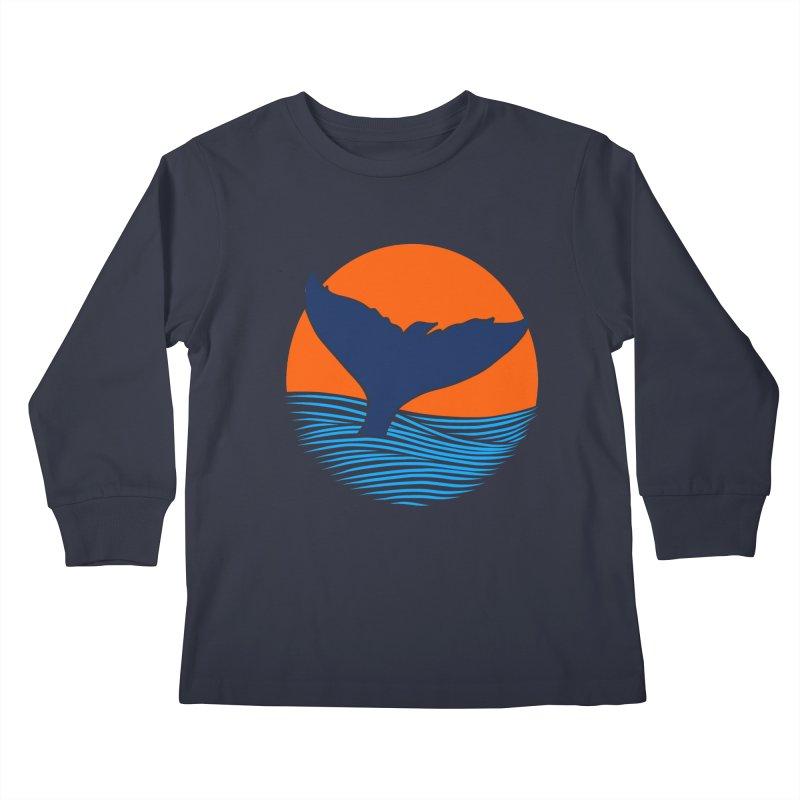 Wings & Tail Kids Longsleeve T-Shirt by kooky love's Artist Shop