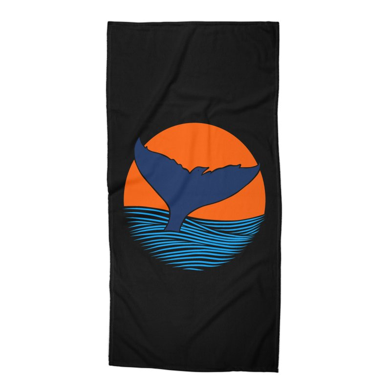 Wings & Tail Accessories Beach Towel by kooky love's Artist Shop