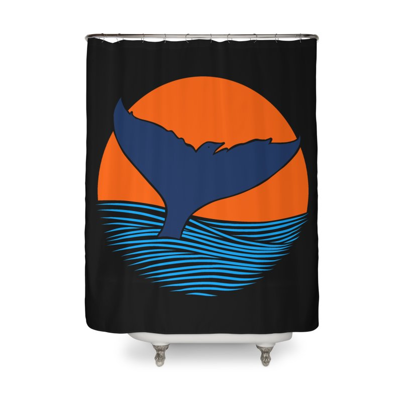 Wings & Tail Home Shower Curtain by kooky love's Artist Shop