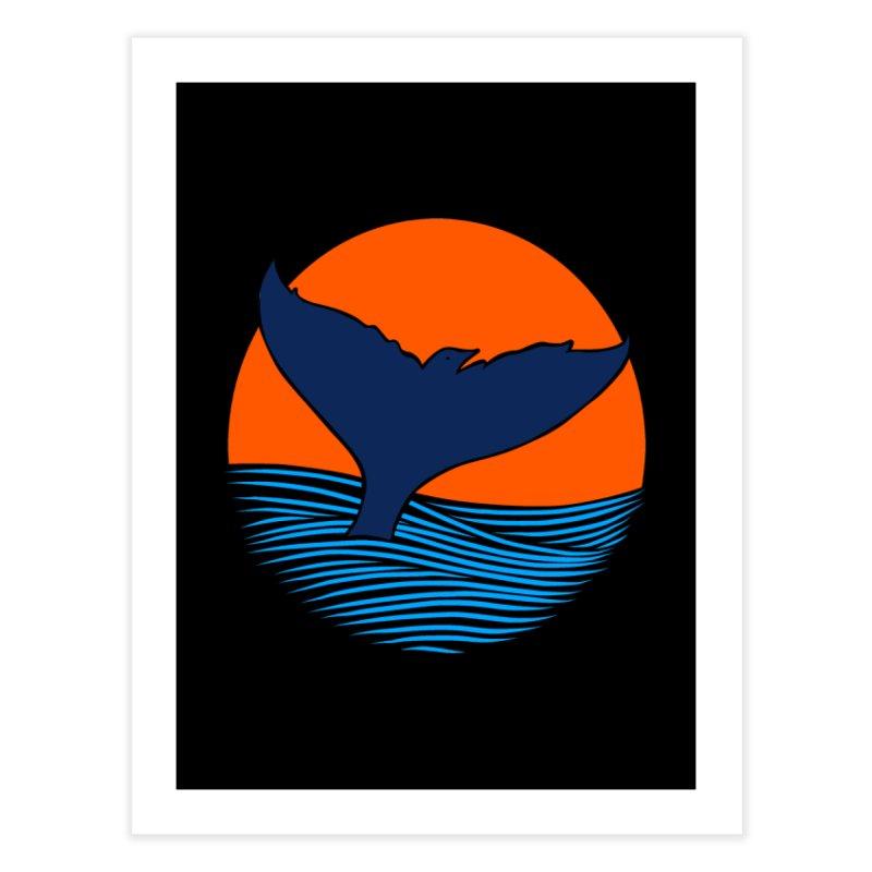 Wings & Tail Home Fine Art Print by kooky love's Artist Shop