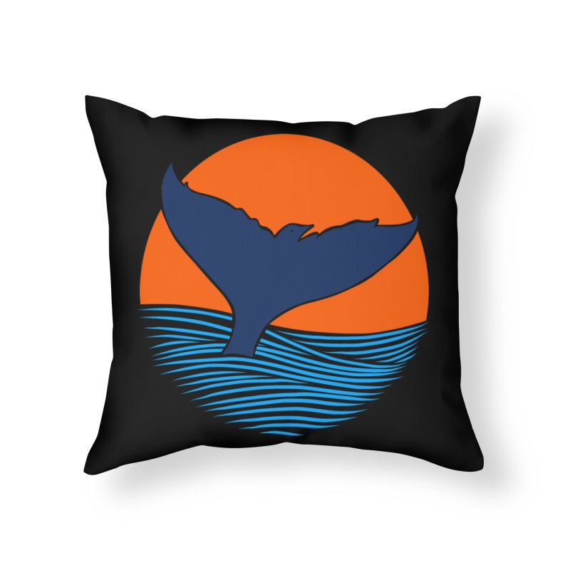 Wings & Tail Home Throw Pillow by kooky love's Artist Shop