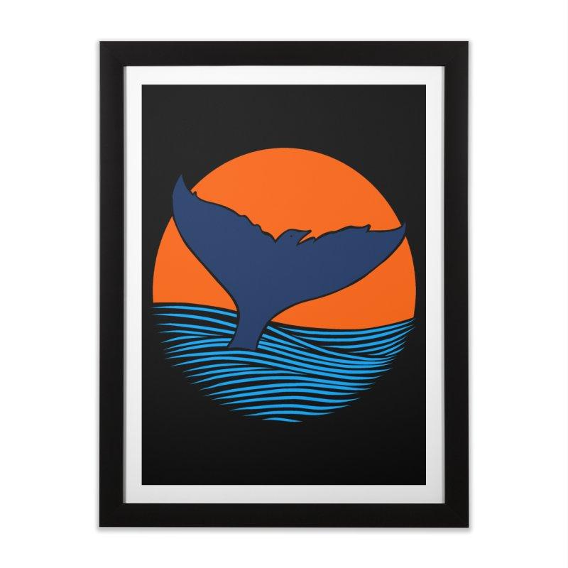 Wings & Tail Home Framed Fine Art Print by kooky love's Artist Shop