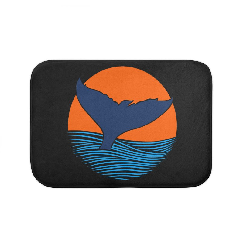 Wings & Tail Home Bath Mat by kooky love's Artist Shop