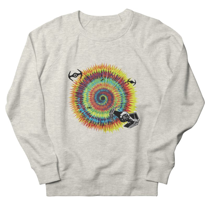 Tie Dye Men's French Terry Sweatshirt by kooky love's Artist Shop