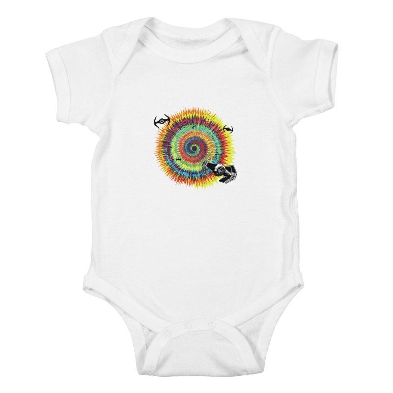 Tie Dye Kids Baby Bodysuit by kooky love's Artist Shop