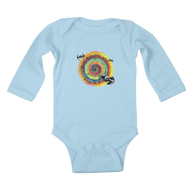 Tie Dye Kids Baby Longsleeve Bodysuit by kooky love's Artist Shop