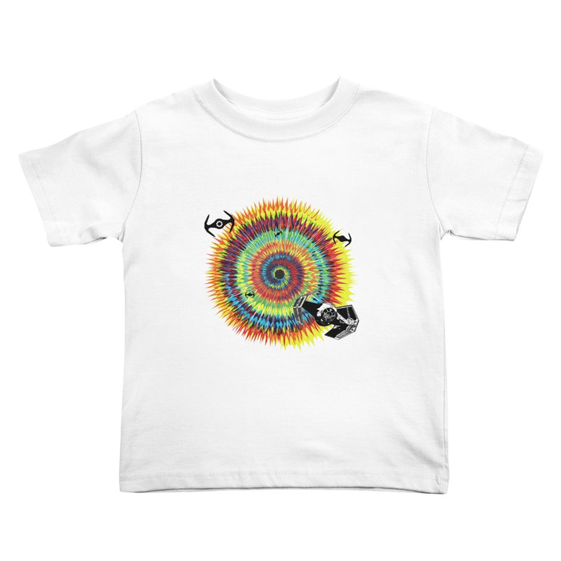 Tie Dye Kids Toddler T-Shirt by kooky love's Artist Shop
