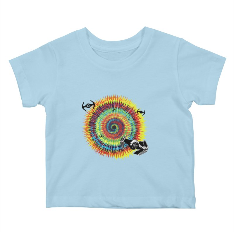 Tie Dye Kids Baby T-Shirt by kooky love's Artist Shop