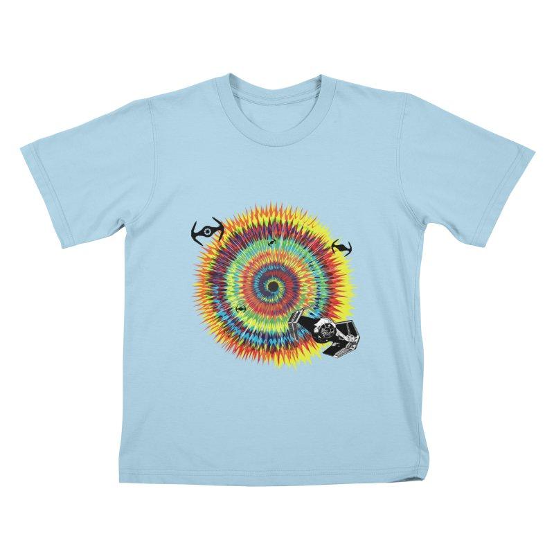 Tie Dye Kids T-Shirt by kooky love's Artist Shop