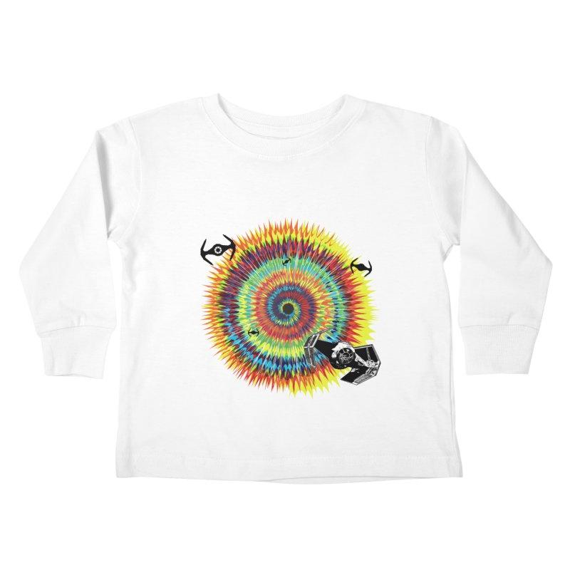 Tie Dye Kids Toddler Longsleeve T-Shirt by kooky love's Artist Shop