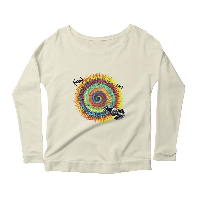 Tie Dye Women's Scoop Neck Longsleeve T-Shirt by kooky love's Artist Shop