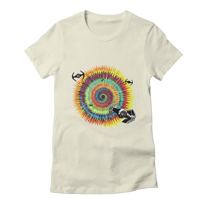 Tie Dye Women's Fitted T-Shirt by kooky love's Artist Shop