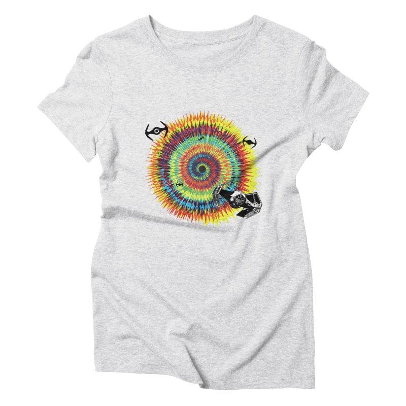 Tie Dye Women's Triblend T-Shirt by kooky love's Artist Shop