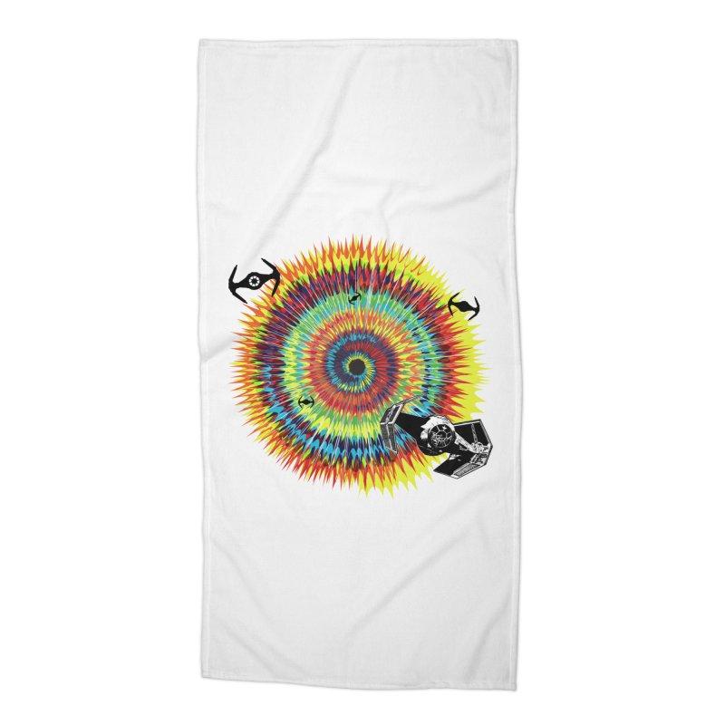 Tie Dye Accessories Beach Towel by kooky love's Artist Shop