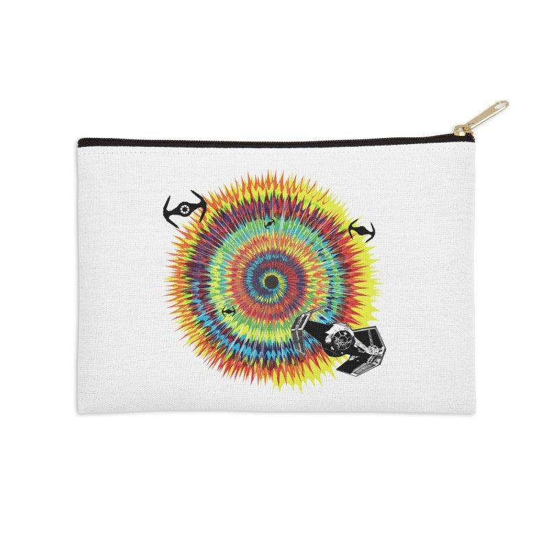 Tie Dye Accessories Zip Pouch by kooky love's Artist Shop