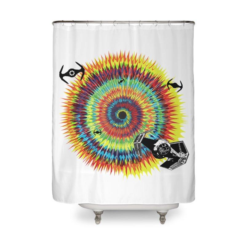 Tie Dye Home Shower Curtain by kooky love's Artist Shop