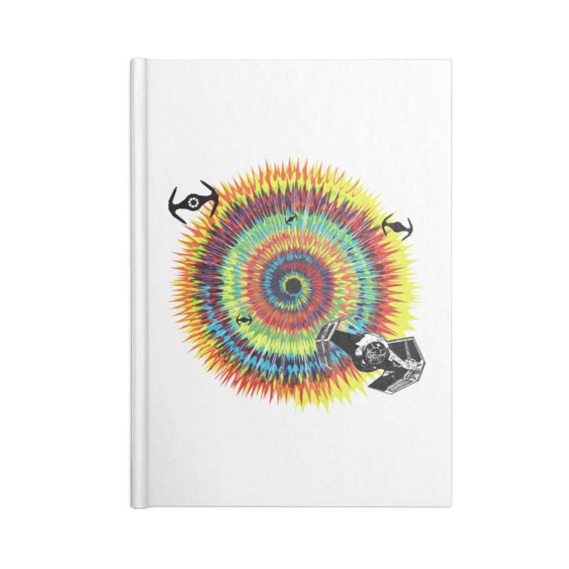 Tie Dye Accessories Notebook by kooky love's Artist Shop