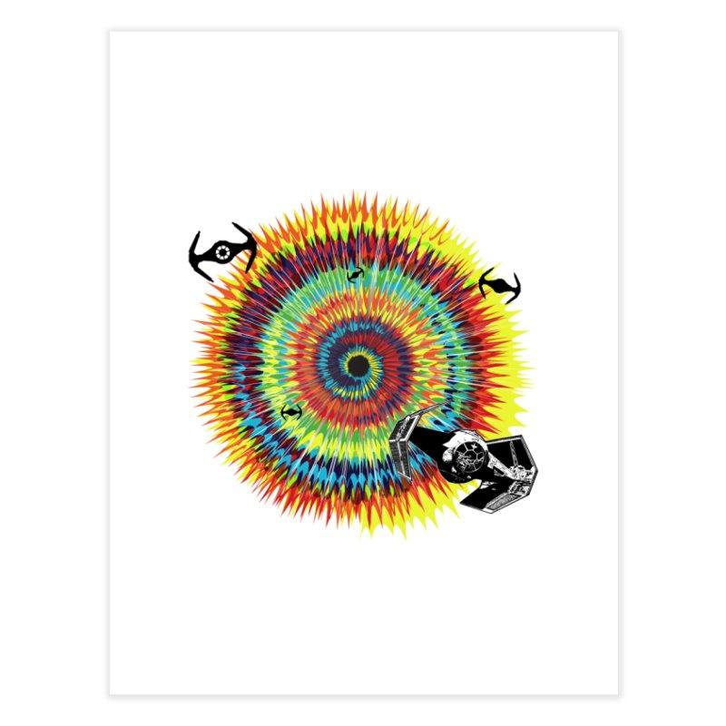 Tie Dye Home Fine Art Print by kooky love's Artist Shop