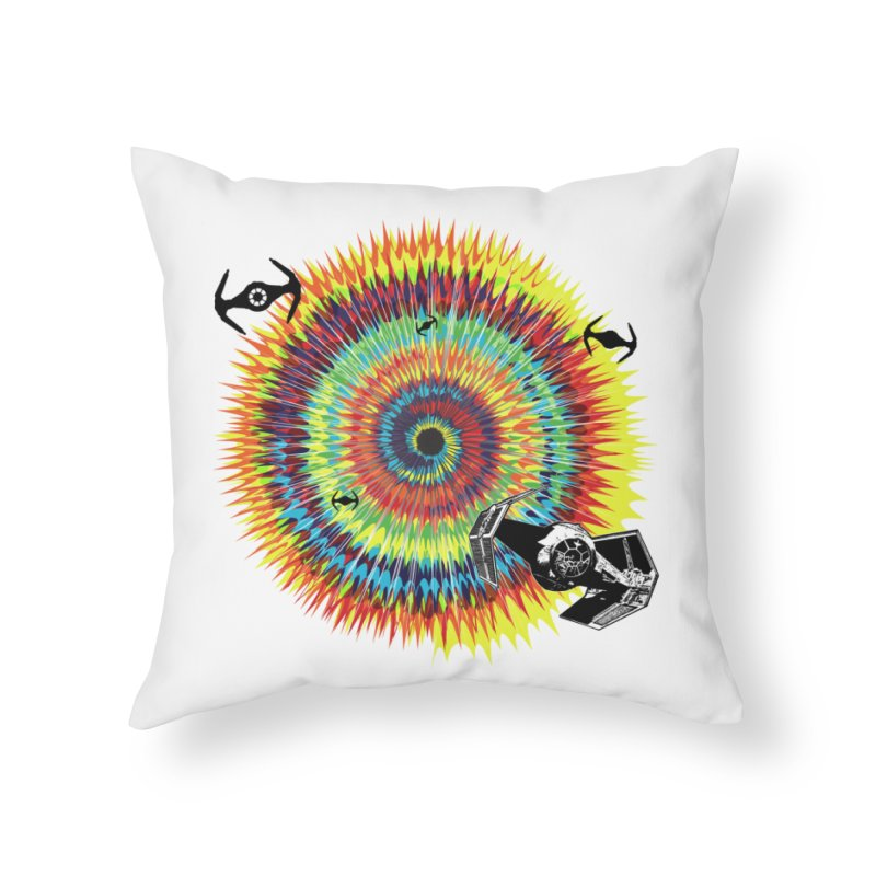 Tie Dye Home Throw Pillow by kooky love's Artist Shop