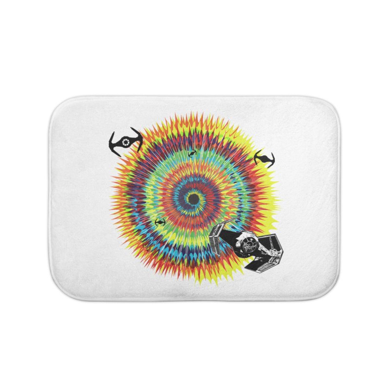 Tie Dye Home Bath Mat by kooky love's Artist Shop