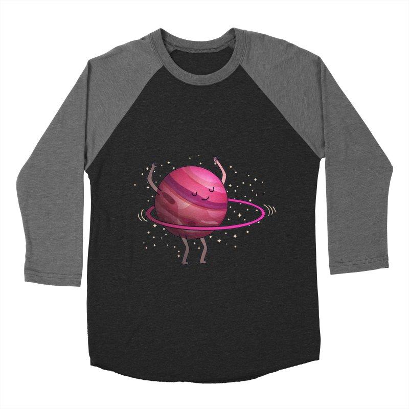 Hula Hoop Men's Baseball Triblend Longsleeve T-Shirt by kooky love's Artist Shop