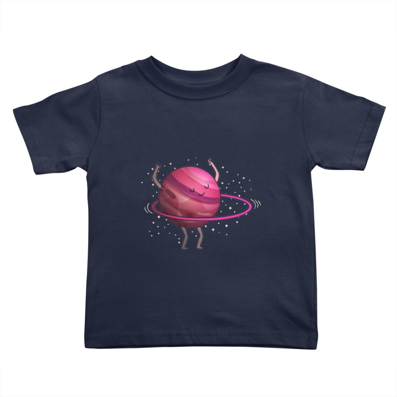 Hula Hoop Kids Toddler T-Shirt by kooky love's Artist Shop