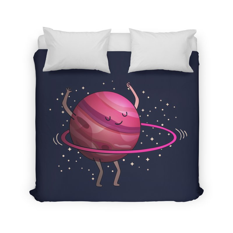 Hula Hoop Home Duvet by kooky love's Artist Shop