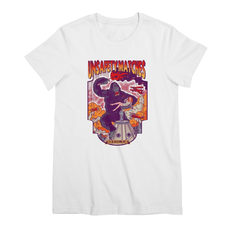 UNSAFETY MATCHES Women's Premium T-Shirt by kooky love's Artist Shop