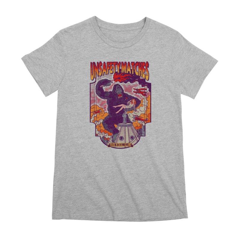 UNSAFETY MATCHES Women's Premium T-Shirt by kooky love's Artist Shop