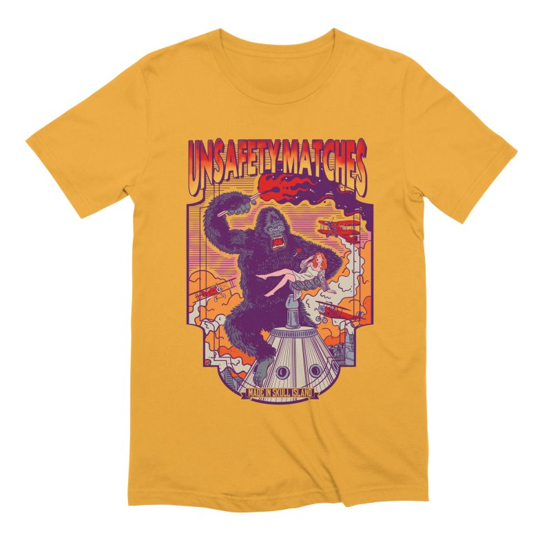 UNSAFETY MATCHES Men's Extra Soft T-Shirt by kooky love's Artist Shop