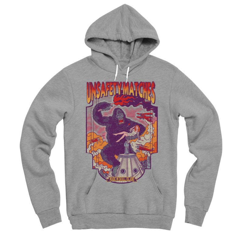 UNSAFETY MATCHES Women's Sponge Fleece Pullover Hoody by kooky love's Artist Shop