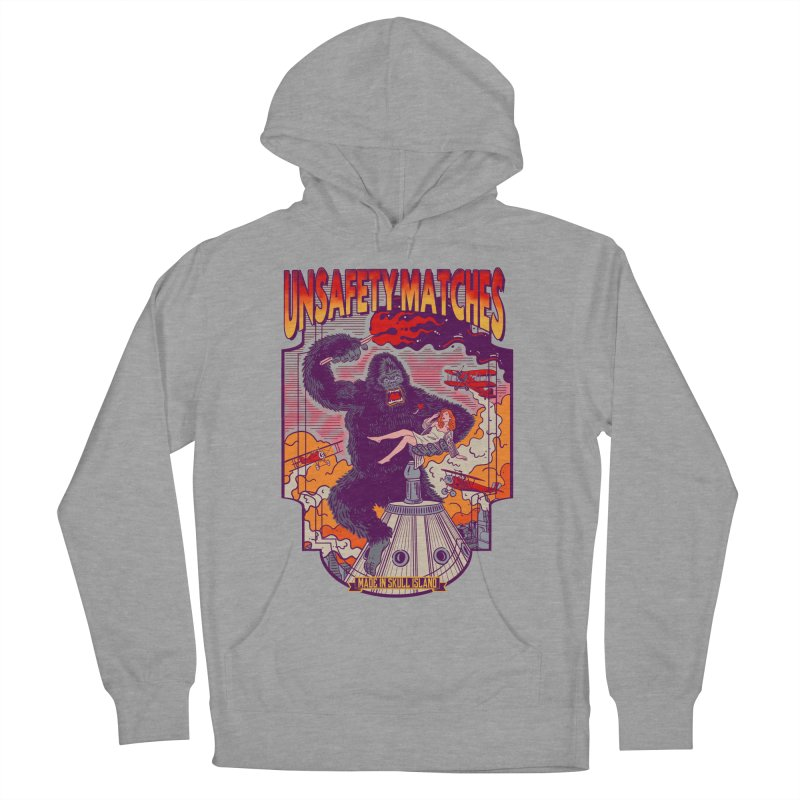 UNSAFETY MATCHES Women's French Terry Pullover Hoody by kooky love's Artist Shop